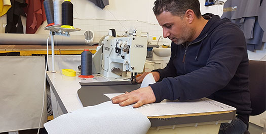 Marine Upholstery Repair