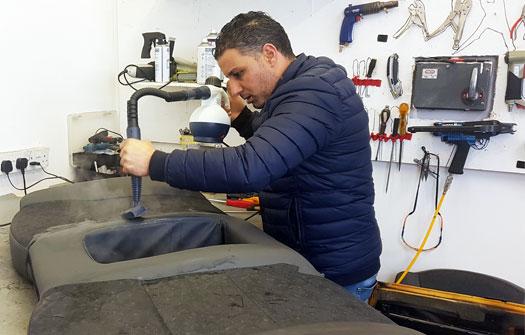 Taxi Seat Repairs