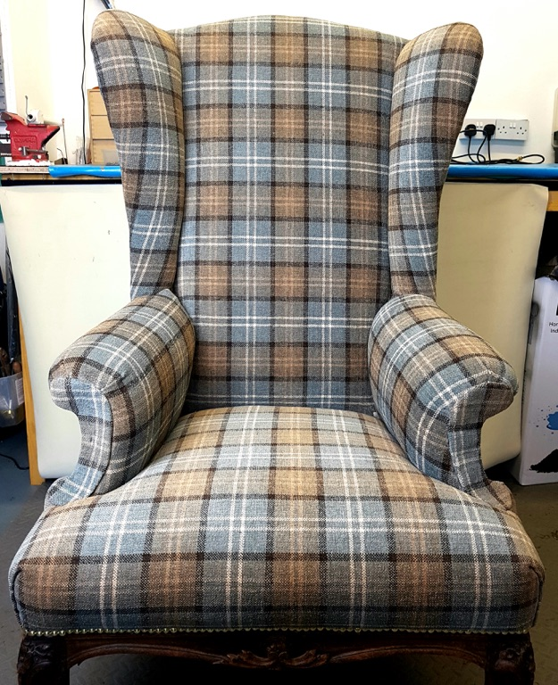 Wing Chair Upholstery Repair