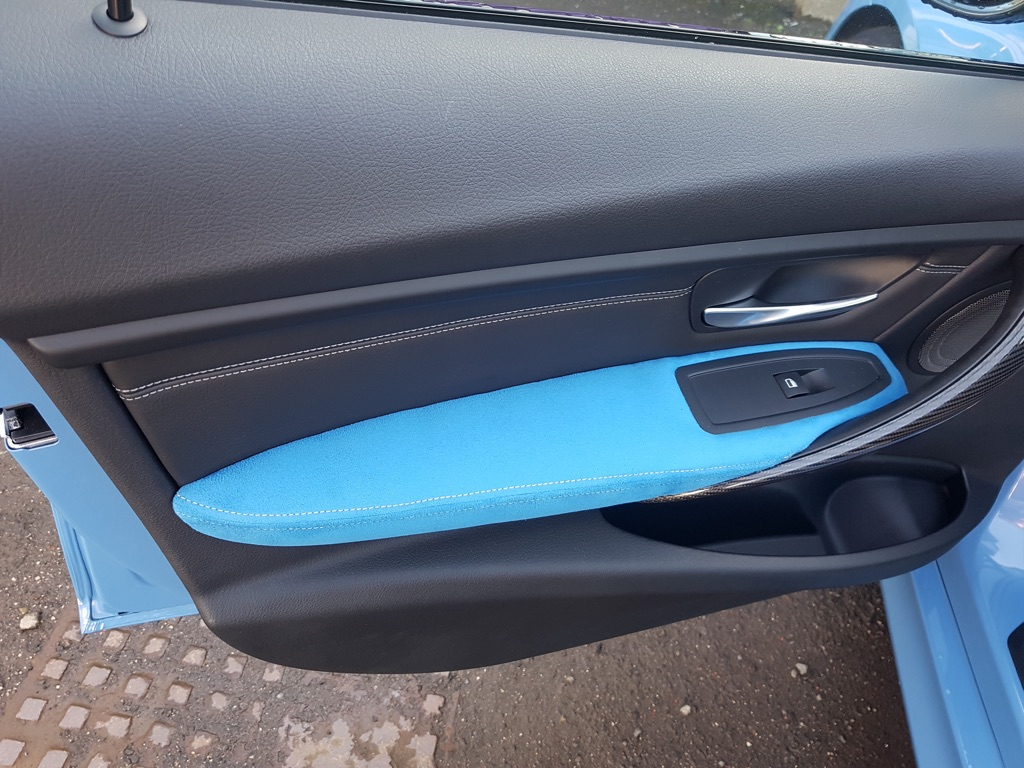 BMW M5 Upholstery