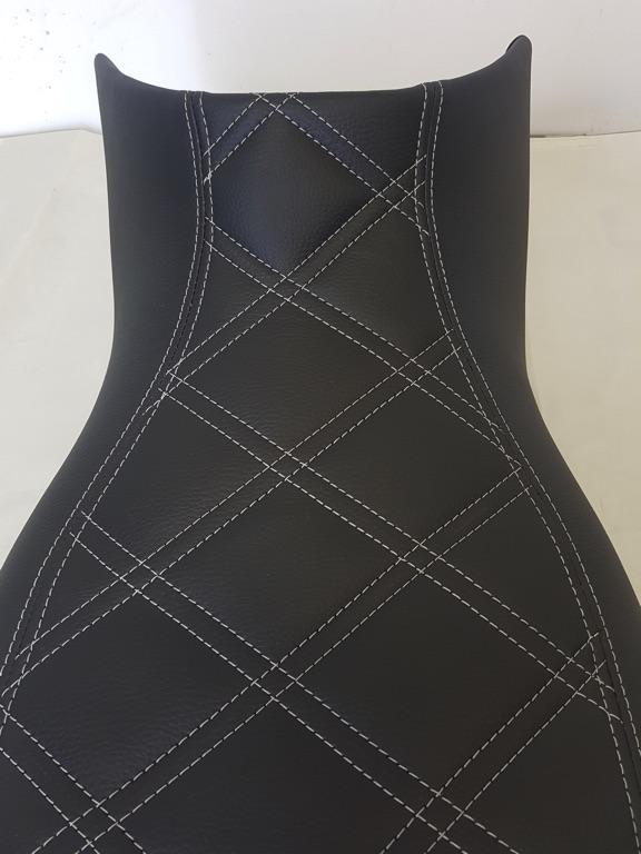 Motorbike - Diamond Stitch Upholstery