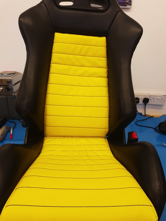 Recaro Bucket Seat Upholstery