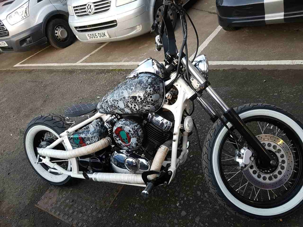 Custom Motorbike Seat Upholstery