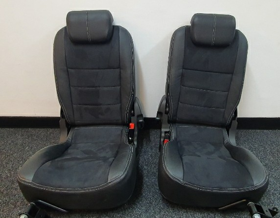 leather defender rear seats